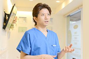 01外科治療のインストラクターである院長がすべてのオペを担当します。